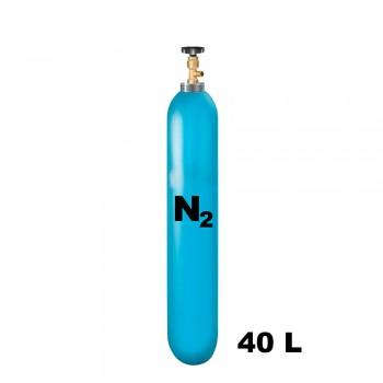 Cylinder with nitrogen 40 liter